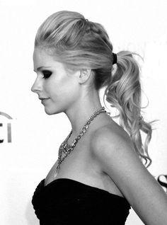 Love the ponytail.