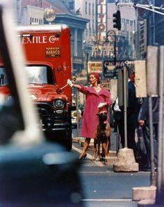 photo William Klein, Vogue US, 1958