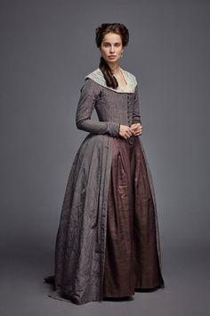 Heida Reed as Elizabeth Poldark. 18th Century Dress, 18th Century Clothing, 18th Century Fashion, Historical Costume, Historical Clothing, Poldark Elizabeth, Vintage Outfits, Vintage Fashion, 90s Fashion