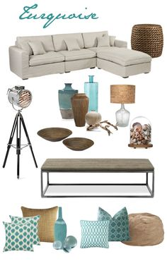 Turquoise Accents | www.oldtimepottery.com