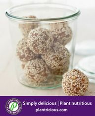 Try these DIY granola bites for a healthy afterschool snack. They're made with whole ingredients and nothing artificial.Get the Dried Fruit and Nut Bites Recipe Martha Stewart, Healthy Fats, Healthy Snacks, Healthy Recipes, Healthy Desserts, Healthy Candy, Healthy Sugar, Paleo Treats, Vegan Snacks