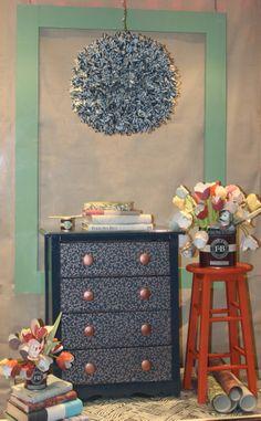 Farrow & Ball wallpaper window by Monarch Paints