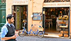 Best way to experience Rome's food? On foot! Take this walking tour with Walks of Italy and taste all the best of Rome's food AND make your own pizza.
