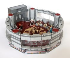 The Jedi High Council Chamber on Coruscant, the room where the jedi masters meet during the rule of the Galactic Republic. With this model you will be able to reconstruct the ...