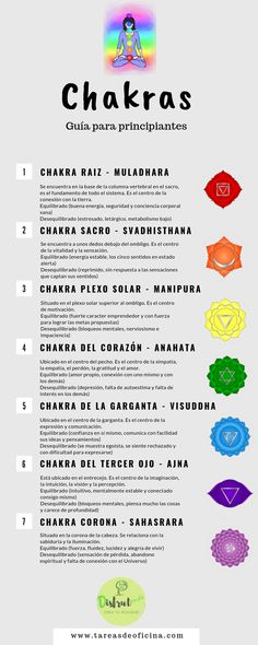 ✨Los chakras y el reiki - Modern Yoga Kundalini, Chakra Meditation, Chakra Healing, Kundalini Mantra, Sacral Chakra, Yoga Mantras, 7 Chakras, Chakra Raiz, Mudras