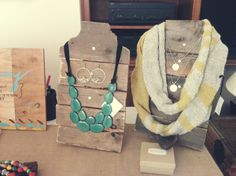 Rustic Jewelry Display by TinyGreenElephantmom on Etsy, $30.00