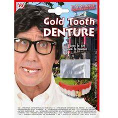 Dentier Doré #dentiersdéguisements #accessoiresdéguisements #accessoiresphotocall