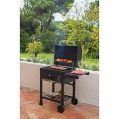 Buy American charcoal smoker BBQ at Argos.co.uk - Your Online Shop for Barbecues.