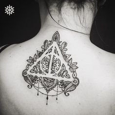 Such a cool version of the deathly hallows