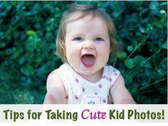 Cute Kid Photo Taking Tips