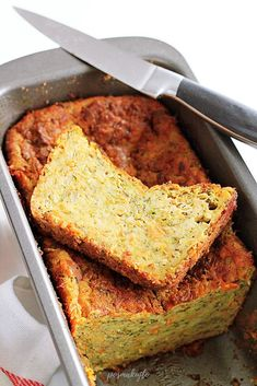 posmakujto! | Pasztet z cukinii Cornbread, Banana Bread, Catering, Side Dishes, Food And Drink, Impreza, Ethnic Recipes, Fitness, Easy