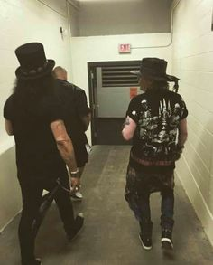 Axl and Slash...Not in this Lifetime tour
