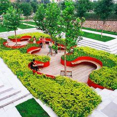 Turenscape : Terrasse de Jardin