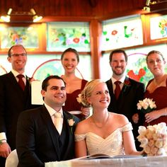 A signed wedding certificate and smiles all 'round :: Photo by Nathania Springs Receptions :: Dandenong Ranges, Victoria, Australia