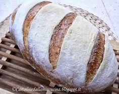 Cartoline dalla mia Cucina: pane con semola rimacinata a lievitazione naturale...