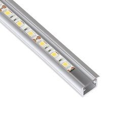 LED ALUMINIUM PROFILE DEEP RECESSED 1 METRE