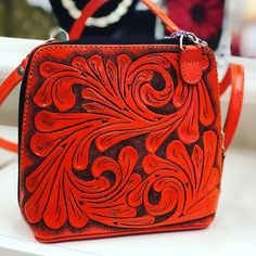 "ALLE Handbags on Instagram: ""Check our Crossbody ""Catalina"" by ALLE hand tooled leather handbags -  FREE SHIPPING handcrafted by artisans #luxurylifestyle #crossbodybag…"" Tooled Leather, Leather Tooling, Leather Crossbody Bag, Leather Handbags, Hand Tools, Luxury Lifestyle, Saddle Bags, Artisan, Hands"