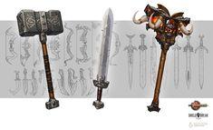 ArtStation - Bierzerkers Weapon Concepts, David Kegg