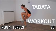 12 Minute Tabata Workout Routine – Training to Increase Metabolism and R...