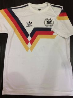 RETRO Germany 1990 World Cup Replica Soccer Jersey Football Shirt Trikot M L XL #Germany #SoccerJersey #WorldCup