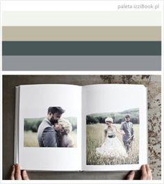 fotoksiążka ślubna przykład kolorystyki - inspiracje izziBook.pl