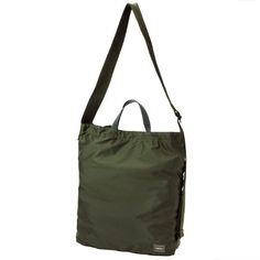 Porter Flex 2 Way Shoulder Bag. Ref : 856-05905. Size : W340H410xD100. Color : Black , Olive drab , Navy. Material: Nylon ripstop (Acrylic coating).