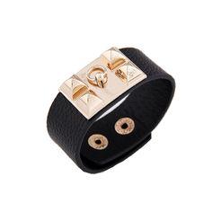 TwistofBlack - Noir Leather Bracelet (More Colours!), $7.50 (http://www.twistofblack.com/noir-leather-bracelet-more-colours/)
