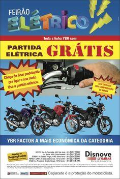 Anúncio Feirão Elétrico 2 Agência: 3Pontos Comunicação Cliente:Disnove Yamaha Campanha: Varejo Título: Feirão Elétrico Peça: Anúncio de jornal