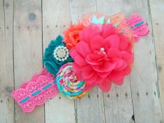 Headband for Toddlers - Headband Accessory Boutique - Headband Cotton Flower - Summer Jewelry - You Need This