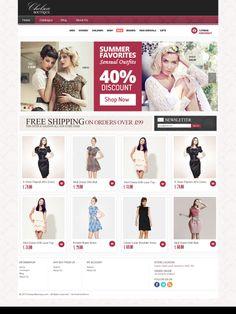 #OnlineRetail #fashion #webdesign #eCommerce