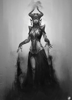 Paranormal Power Do You Have? God Of War Concept (Can this be a Skyrim build? Lord of Daedras)God Of War Concept (Can this be a Skyrim build? Lord of Daedras) Dark Fantasy Art, Fantasy Artwork, 3d Artwork, God Of War, Fantasy Characters, Female Characters, Character Concept, Character Art, Dark Elf