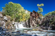Abandoned Crystal Mill in Marble CO jigsaw puzzle in Waterfalls puzzles on TheJigsawPuzzles.com