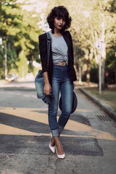 25 Ways Style a Black Blazer | StyleCaster