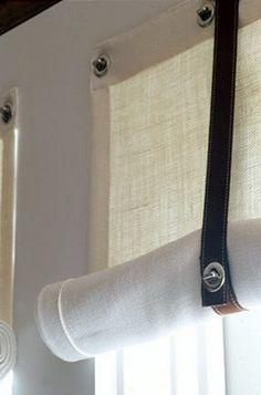 """LUV DECOR: DETALHES: Ideias para cortinados """"JAPONESES e ROMANOS"""""""