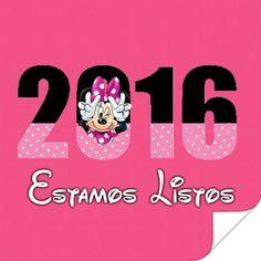 Feliz año nuevo 2016, estamos listos, minnie