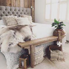 Home Bedroom, Master Bedroom, Bedroom Decor, My New Room, My Room, Cosy House, Green Bedding, Upholstered Beds, Interior Inspiration