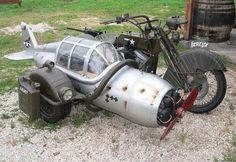 Radial engine on prop?