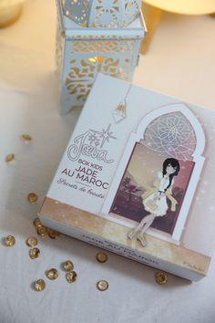 """Pour rêver de soleil, de désert et de contrées lointaines... Note box / coffret """"Jade au Maroc"""" pour voyager en orient ! Des cadeaux gourmands, girly, bio, fruités pour partir à la découverte du Maroc avec Jade. Joeva Bien être Luxe Cocooning"""