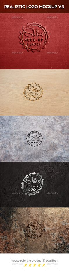 Realistic Logo Mock Up By Xepeec Realistic Logo Mock Up This Is Logo Mock Up Place Your Design Using Smart Objects Double Click The Smart Object Copy