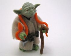 """The original action figure for Yoda, the jedi master from """"Star Wars,"""" released in 1980"""