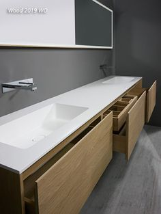The simplest tricks can change your life: Dark counters made of Carrara marble … Most Simple Tricks Can Change Your Life: Dark Counter Tops Carrara Marble counter tops diy bathroom. Diy Bathroom Paint, Bathroom Countertops, Bathroom Furniture, Wood Furniture, Bathroom Pink, Bathroom Storage, Bad Inspiration, Bathroom Inspiration, Bathroom Ideas