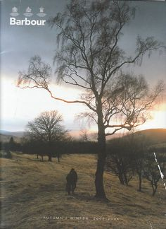 Barbour Autumn/Winter 2003-2004 catalog cover.
