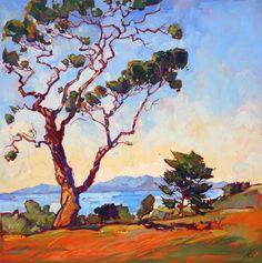 Catalina Lights, original oil painting by Erin Hanson