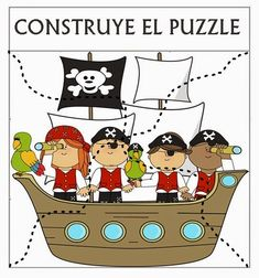 All pirate-themed graphics created by MyCuteGraphics Money clipart created by Just Us Teachers Use these quick checks to assess student understand. Pirate Preschool, Pirate Activities, Activities For Kids, Pirate Birthday, Pirate Theme, Treasure Maps, Treasure Boxes, Vbs Crafts, Kids Education