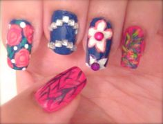 4Minute - What's Your Name? Nails