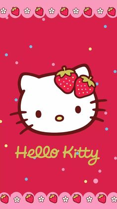 Say Hello to Kitty — Hello Kitty Hello Kitty Iphone Wallpaper, My Melody Wallpaper, Hello Kitty Backgrounds, Sanrio Wallpaper, Kawaii Wallpaper, Hello Kitty My Melody, Hello Kitty Items, Sanrio Hello Kitty, Hello Kitty Pictures