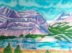 Painting by Suzanne Berton (Canada) Kingston Ontario, Canadian Artists, Environmental Art, Land Art, Conceptual Art, Contemporary Paintings, Watercolor Paper, Jasper, Tourism