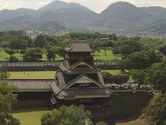 A visit to Kumamoto Castle, Japan