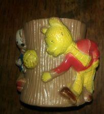 Rupert Bear Character Plastic Egg Cup, 1972, Beaverbrook Newspapers.