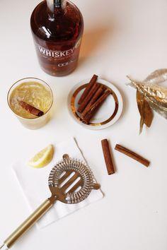 The Bourbon Epice Cocktail Recipe // coco+kelley